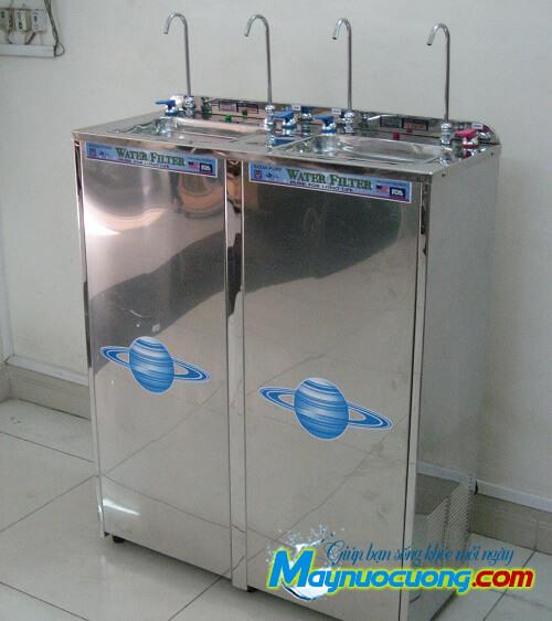 Máy lọc nước nóng lạnh 4 vòi cong