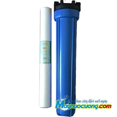 Cốc lọc thô nhựa xanh