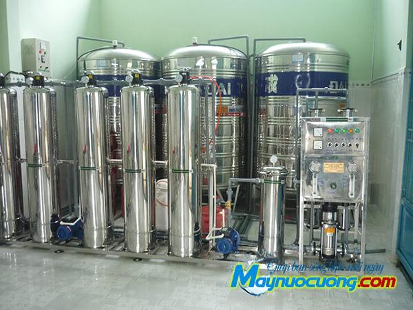 Hệ thống lọc nước 500l/h inox
