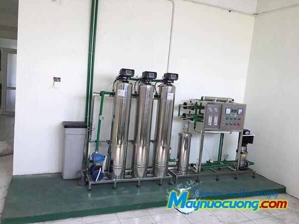Hệ thống lọc nước RO 500l/h inox
