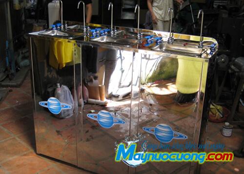 Máy nước uống nóng lạnh 6 vòi cong