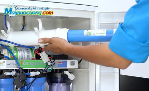Thay lõi máy lọc nước tại nhà