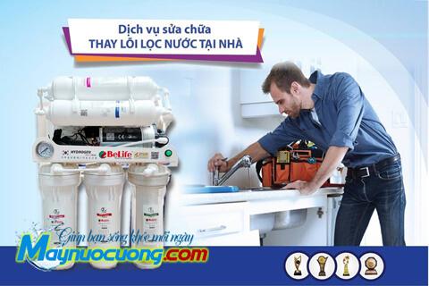 thay lõi máy lọc nước