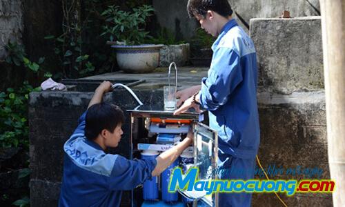 Lắp đặt máy lọc nước giá rẻ tại nhà