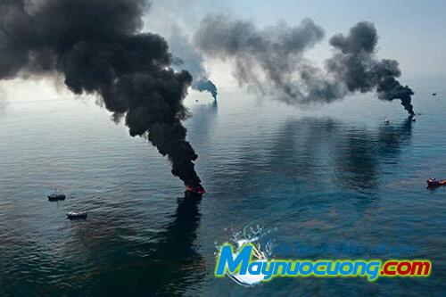 Ô nhiễm môi trường nước từ các nhà máy