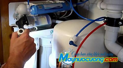 Sửa chữa máy lọc nước cho công ty