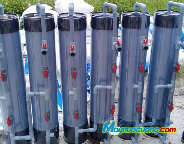 Cột lọc thô nhựa PVC