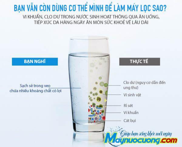 Nước đủ tiêu chuẩn để uống
