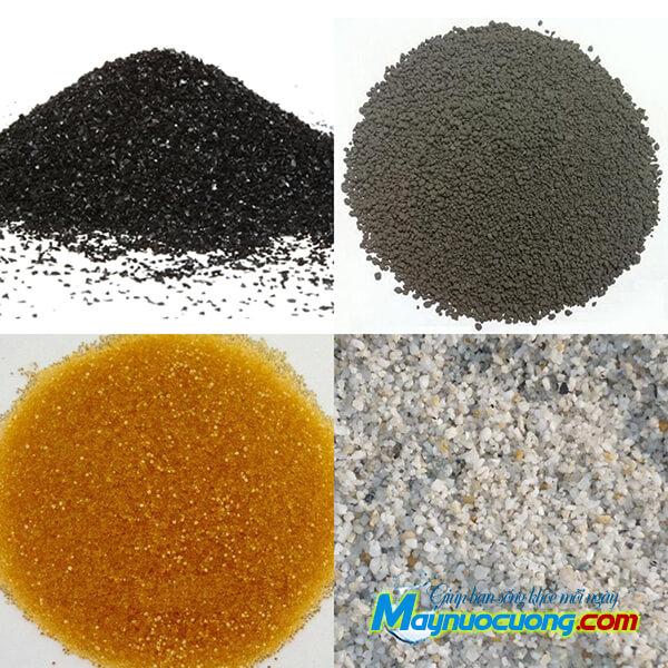 Các loại vật liệu xử lý nước