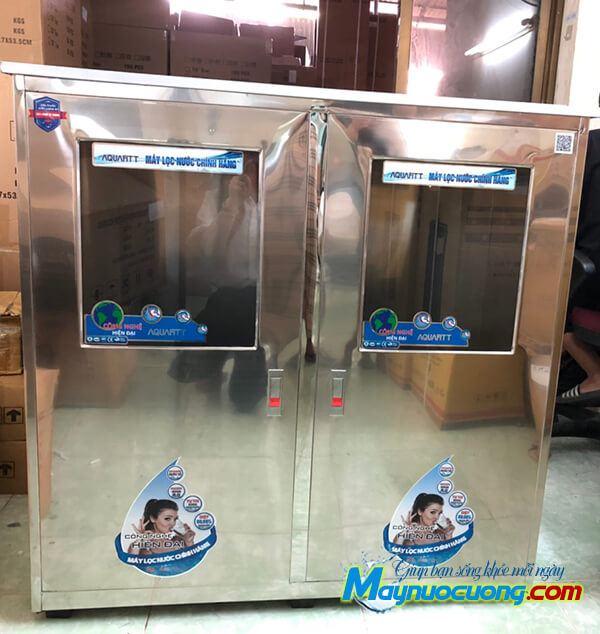 Máy lọc nước RO bán công nghiệp tủ inox