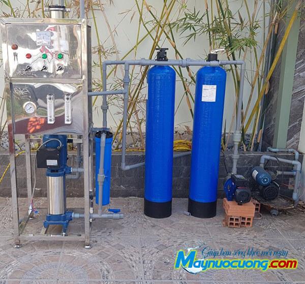 hệ thống lọc nước RO công suất 150l/h