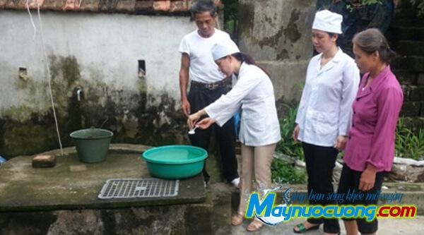 Xử lý nước sông bằng hóa chất