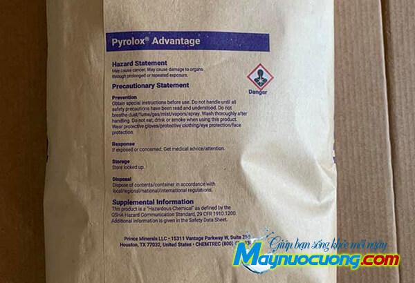 Hạt lọc Pyrolox lọc nước